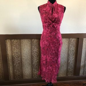 Sz 8: ICE Semi Formal Dress - 100% Silk